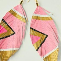 Multi Statement  Chandelier - Neon Cotton Candy Hand Painted   UsTrendy