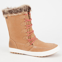 Roxy Porter Womens Boots Brown  In Sizes