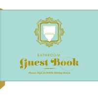 Knock Knock Bathroom Guest Book (50012)