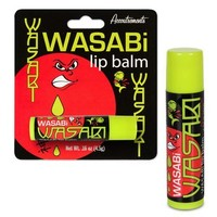 Wasabi Flavored Lip Balm Novelty Gag Gift