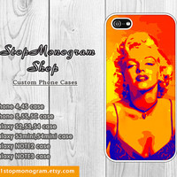 Marilyn Monroe modern abstract Fine Art iPhone case and Galaxy case