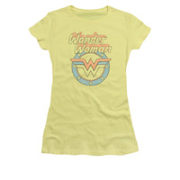 Wonder Woman Faded Wonder Juniors/Womens T-Shirt