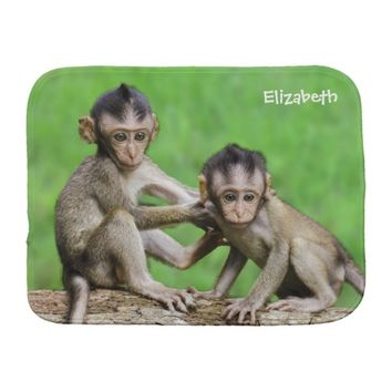 Year Of The Fire Monkey Burp Cloth