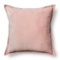 "Velvet Throw Pillow Cover (18""x18"") - Threshold™ : Target"