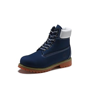 Timberland 10061 Leather Lace-Up Boot Men Women Shoes-1