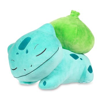 Sleeping Bulbasaur Poké Plush (Jumbo Size) - 16""