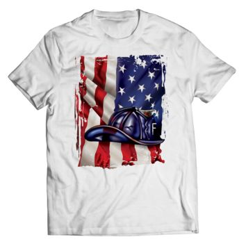 Limited Edition - American Flag Blue Helmet