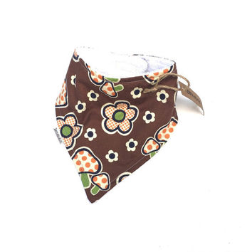 Bandana Bib - Drool Bib - Teething Bibs - Baby Bib - Bandana Scarf - Girls Bib - Baby Drool Bib - Bib For Baby - Girls Baby Bib
