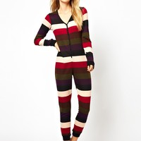 South Beach Victoria Super Soft Multi Stripe Onesuit