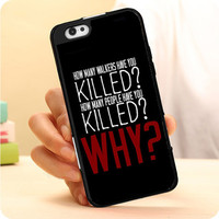 The Walking Dead Question TWD Quotes iPhone 7 | 7 Plus Case Dollarscase.com