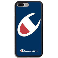 Top Selling Champion Logo Fit Case For iPhone 6 6s 7 8 Plus X Samsung Cover