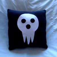 Lord Death Shinigami Soul Eater Pillow