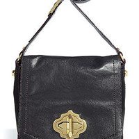 STYLEBOP.com | Black Turnlock Cross Body Bag by ORYANY | the latest trends from the fashion capitals of the world