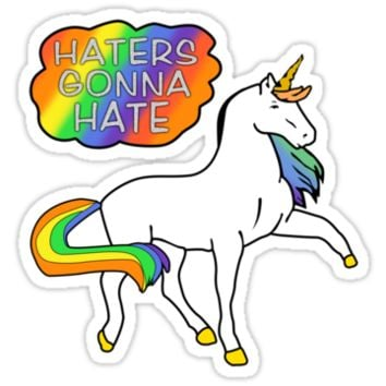 Taylor Swift - Haters Gonna Hate Shirt Unicorn by xnmex