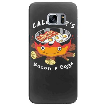 calcifer's bacon and eggs Samsung Galaxy S7 Edge