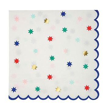 Nutcracker Star Pattern Napkins