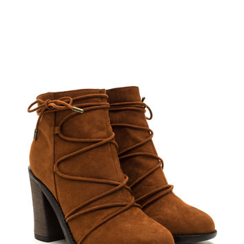 Any Way You Lace It Chunky Booties GoJane.com