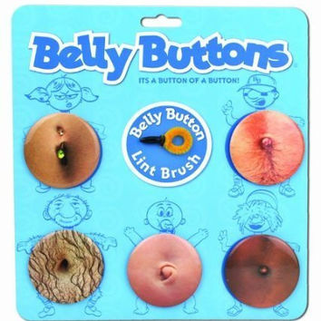 Big Mouth Toys Belly Buttons