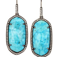 Ellen Drop Earrings in Turquoise Magnesite - Kendra Scott Jewelry