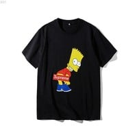 qiyif Supreme X Simpsons #001 T-Shirt