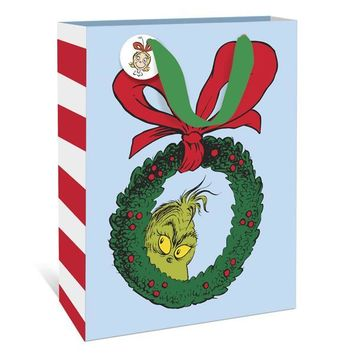The Grinch Wreath Small Gift Bag
