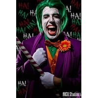 The Joker -Green Lace Front Wig