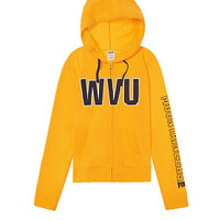 West Virginia University Perfect Full-Zip - PINK - Victoria's Secret