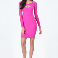 BRITTANY BOW NECK DRESS