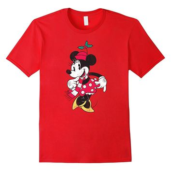 Disney Minnie Mouse Christmas T Shirt