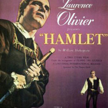 Hamlet Laurence Olivier Vintage Movie Poster