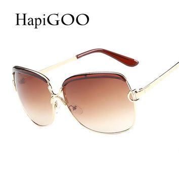 Newest Eye wear Trends for Women Vintage Sunglasses Metal Square Sun Glasses