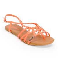 Volcom No Sweat Hot Coral Creedler Sandals