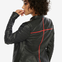 Star Wars: The Last Jedi Kylo Ren Lightsaber Moto Jacket