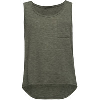 Full Tilt Essential Girls Hachi Pocket Tank Black  In Sizes