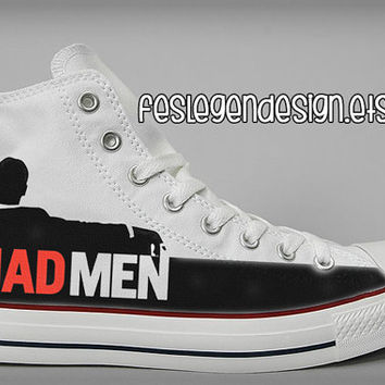 Mad Men Painted Shoes