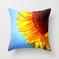 Arise and Shine Throw Pillow by Shawn Terry King