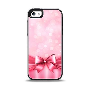 The Magical Pink Bow Apple iPhone 5-5s Otterbox Symmetry Case Skin Set