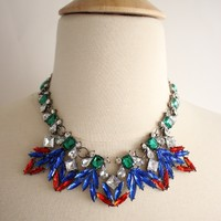 Red and Blue Shocker Necklace