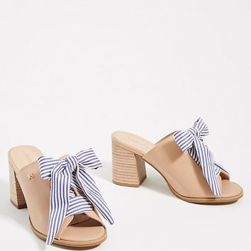 Raphaella Booz Lace-Up Heeled Mules