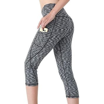 Women's Fitness Sport Yoga Pants with Pockets