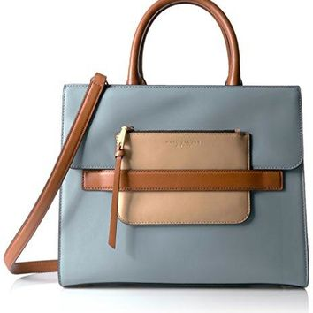 Marc Jacobs Madison North/South Tote, Dolphin Blue/Multi