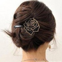 Beautiful Jewelry Flowers Hair Clips - for hair clip Beauty Tools