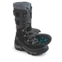 Merrell Polarand Rove Peak Leather Snow Boots - Waterproof, Insulated (For Women)