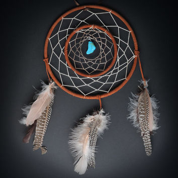 Double Ring Large Dream Catcher