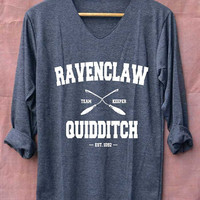 Ravenclaw Quidditch Harry Potter Shirts Long Sleeve Unisex Adults Size S M L