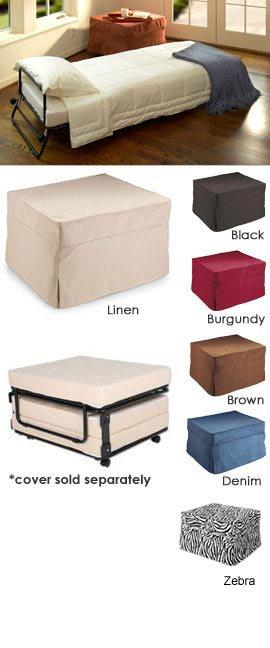 Fold Out Ottoman Bed Folding Bed Ottoman From Solutions