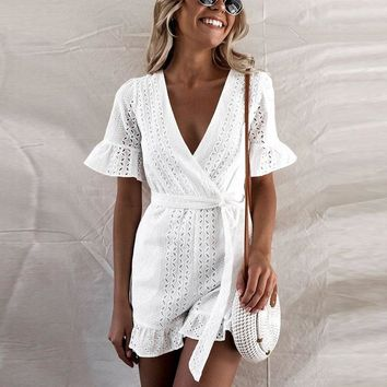 Libertine Criss-Cross Romper