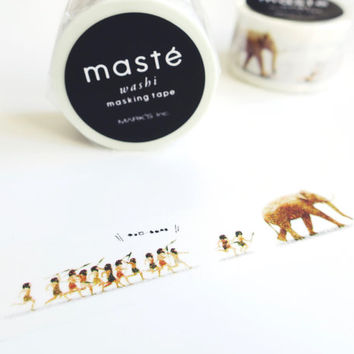 Early People by maste LIFE series mt washi masking tape