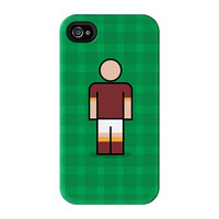 Roma Full Wrap High Quality 3D Printed Case for iPhone 4 / 4s by Blunt Football European