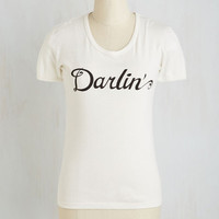Sayings Mid-length Short Sleeves Making a Pet Name for Myself Tee
